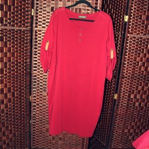Plus Size T Shirt Dress